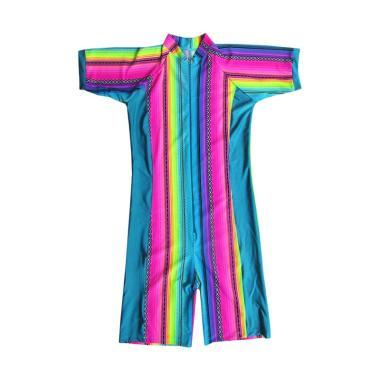 Rainy Collections Motif Pelangi Baju Renang Wanita