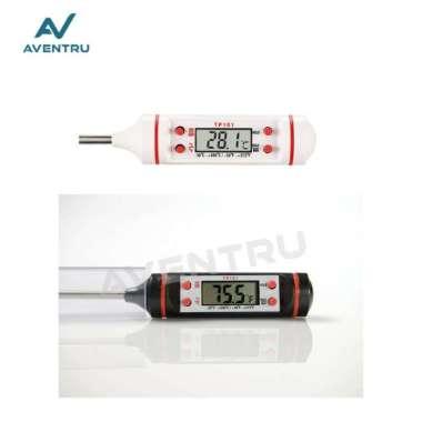 harga Promo Digital Food Thermometer - Termometer Makanan Masakan  Air Dapur - Hitam Murah Blibli.com