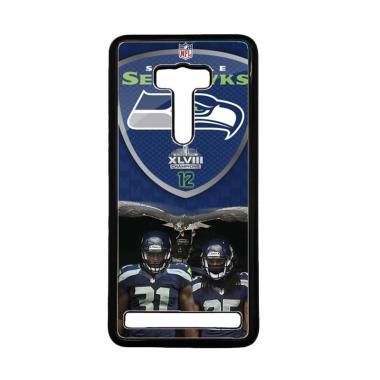 Acc Hp Seattle Seahawks W4887 Custo ... us Zenfone 2 Laser 5 Inch