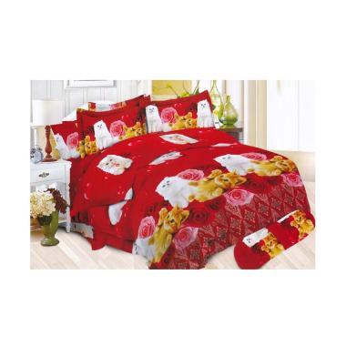 Bonita Motif Batik Persia Set Sprei