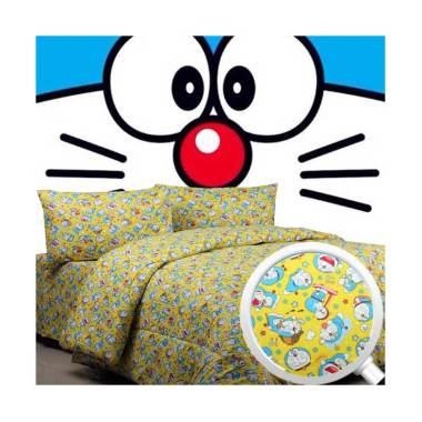 Sierra Doraemon Time Set Sprei - Kuning