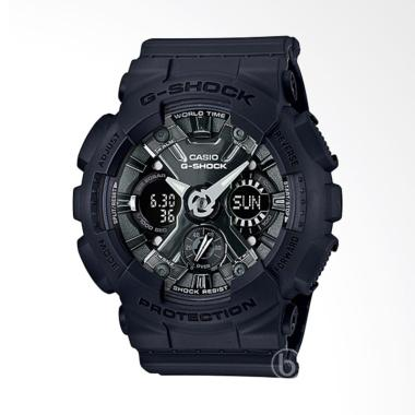 CASIO G-SHOCK Metallic Face Jam Tan ... ck Silver [GMA-S120MF-1A]