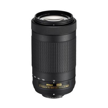 Nikon AF-P DX Nikkor 70-300mm f/4.5-6.3G ED Lensa Kamera - Ladang