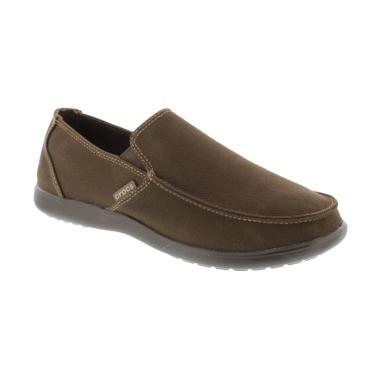 Crocs Santa Cruz Clean Cut Loafer M ...  Pria - Brown [20297222Z]