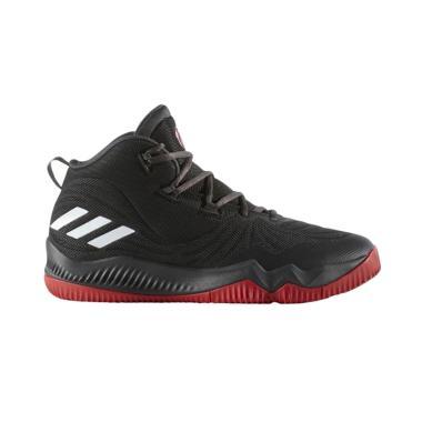 Adidas D'Rose Dominate Sepatu Basket Pria - Black