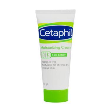 Cetaphil Moisturizing Cream Pelembab Wajah [100 g]