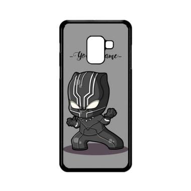 harga Bunnycase Black Panther Name L0596 Custom Hardcase Casing for Samsung Galaxy A8 Plus 2018 Blibli.com