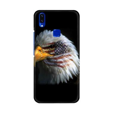 Flazzstore American Flag Eagle Coun ... remium Casing for Vivo V9