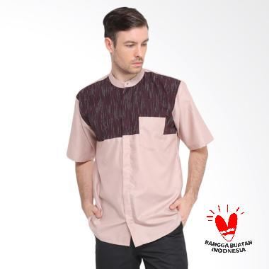 allev_allev-azmi-shirt-baju-koko-pria---light-mocca_full05 10 Harga Baju Koko Untuk Remaja Cowok Terlaris 2018
