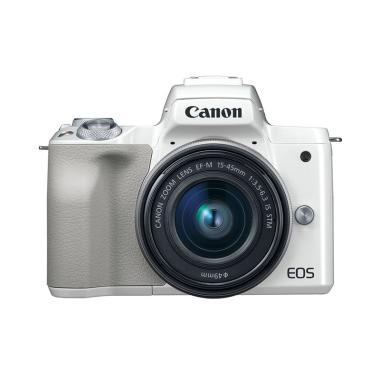 harga Canon EOS M50 Kit 15-45mm Kamera Mirrorless Cirebon Indah Foto Blibli.com