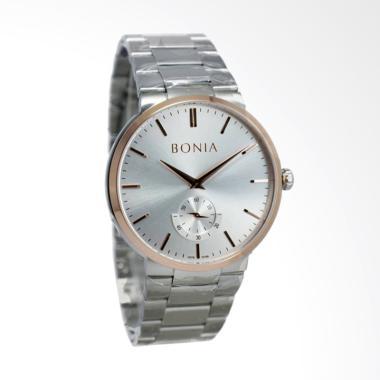 Bonia Jam Tangan Pria - Silver [BNB 10188-1372]