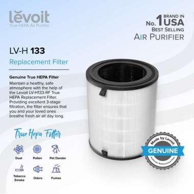 harga Levoit LV-H133 Tower True HEPA Replacement Filter Genuine USA Original Blibli.com