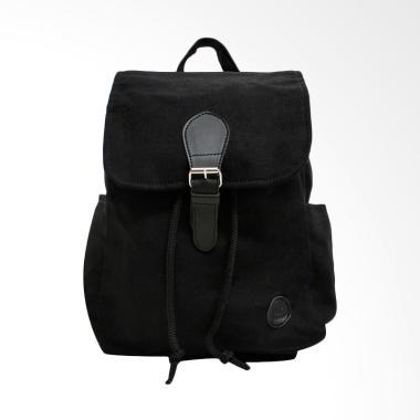 Pulcher Bags Cath Mini Backpack Tas Wanita - Black