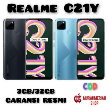 harga Realme C21Y Smartphone (3GB/32GB) Garansi Resmi black Blibli.com