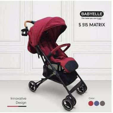 harga Babyelle 515 Matrix Kereta Dorong Bayi Blibli.com