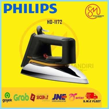 harga PHILIPS HD1172 Setrika Kering Classic Cepat dan Efisien 1000 W HD-1172 - TANPA BUBBLE TAMBAH BUBBLE Blibli.com