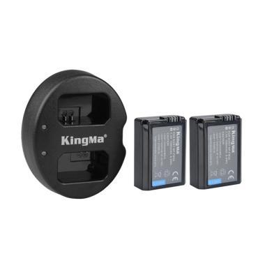 KingMa Paket Complete Battery Charg ... 000 A6300 NEX-7 NEX-6 Etc