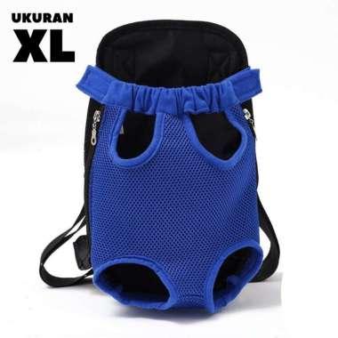 harga Tas Ransel Gendong Hewan Anjing Kucing Pet Shoulder Backpack Carrier - Biru Ukuran XL Blibli.com