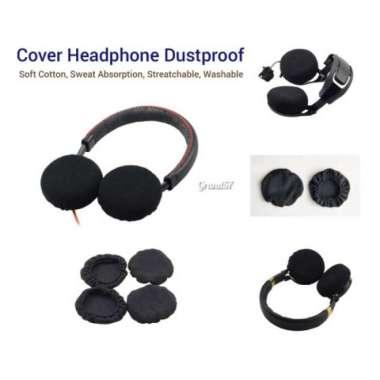 harga Promo Cover sarung pelindung penutup headphone earcup disposable anti debu Diskon Blibli.com