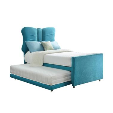Luxio 2 In 1 Butterfly Kasur Springbed [Full Set]