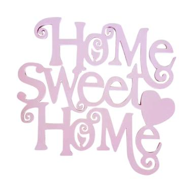Prima Shabby Craft Wooden Home Sweet Home Hiasan Dinding