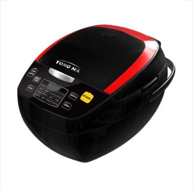 Yong Ma YMC 801 Digital Rice Cooker - Hitam [2 L]