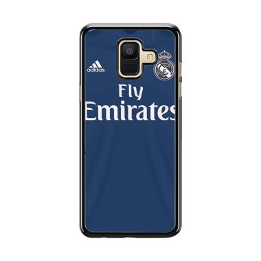 Acc Hp Blue Jersey Real Madrid O1014 Custom Casing For Samsung A6