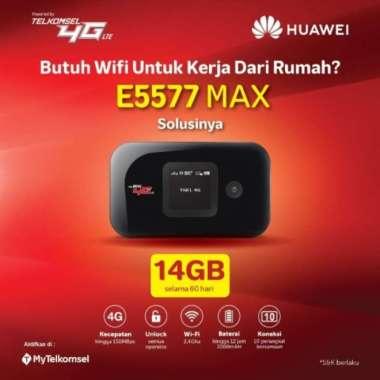 harga Mifi Huawei 4G LTE E5577 Max 3000mah Free TSEL 14Gb 2Bln MULTY COLOUR Blibli.com