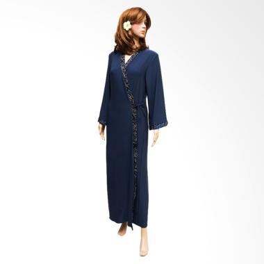 Kimochi Me Lingerie ZLBKIM1017 Kimono Robe Lingerie - Biru