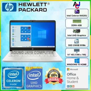 harga HP 14S-CF2516TU CELERON-N4020/4GB/256GB/14