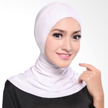 Cotton Bee Antem Sleting Hijab Inner Ninja - Off White