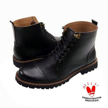 Reyl Arpegio Leather Sepatu Boot Pria [Original]
