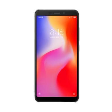 Xiaomi Redmi 6A Smartphone - Grey [16GB/ 2GB] Free Tongsis