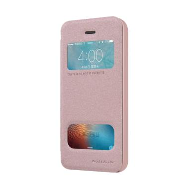 Nillkin Sparkle Leather Flip Cover Casing for Apple Iphone 5/5S/SE