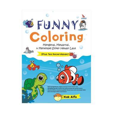 harga Diva Press Group Funny Coloring Mengenal Mewarnai Menempel Stiker Hewan Laut by Kak Aifa Buku Edukasi Anak Blibli.com