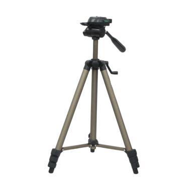 Weifeng WT-3150 Portable Lightweight Tripod Video & Camera - Chocolate