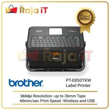 harga Dijual BROTHER Printer Label PT E850TKW Tube Tubing E850 TKW E 850 TKW Murah Blibli.com