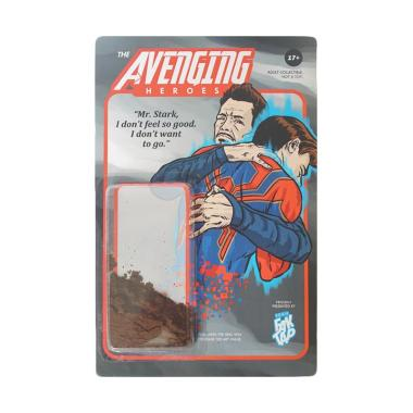 Komik Faktap The Avenging Heroes Ashes Action Figure