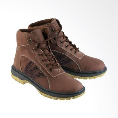 Golfer Tracking Safety Sepatu Boot Pria  7007  c176765769