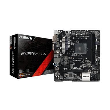 Asrock B450M-HDV Motherboard