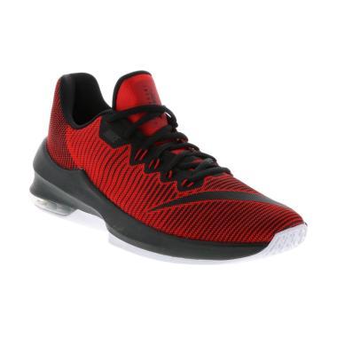 NIKE Men Basketball Air Max Infuria ...  - Black Red [908975-600]