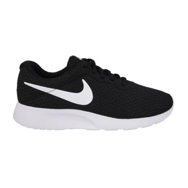 NIKE Tanjun Running Shoes Sepatu La ...  Black White [812654 011]