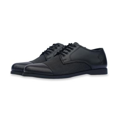 Frandeli SHR Kingu Formal Sepatu Pria - Black