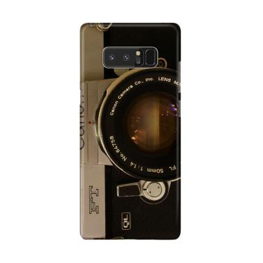 Indocustomcase Camera Canon FT QL C ... for Samsung Galaxy Note 8