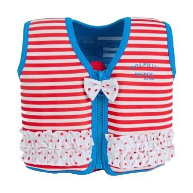 Kofidence Marthas Red Stripe & Frills Jacket Pelampung