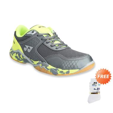 YONEX Super Ace V Sepatu Badminton  ... - White [SSMP 1855S-3-SR]