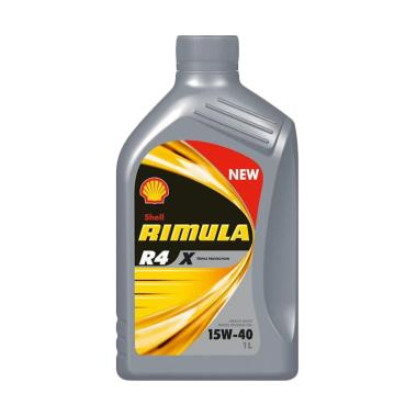 Shell Rimula R4 X Triple Protection 15W 40 Oli 1 L