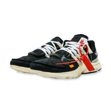 NIKE Air Presto Sepatu Lari Pria - Black Off White f6fb757855