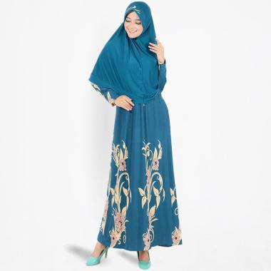 Koesoema Clothing Shireen Set Gamis Syari Maxi Dress + Jilbab