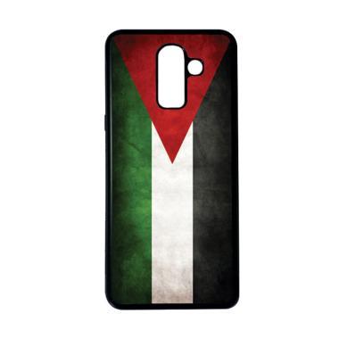 harga HEAVENCASE Motif Bendera Palestina 16 Casing for Samsung Galaxy J8 - Hitam Blibli.com